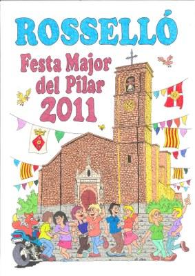Cartell guanyador del Concurs 2011
