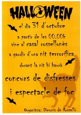Halloween a Rosselló