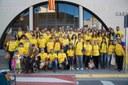 Participanst en la Via Catalana