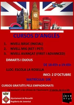 cursos d'anglès 2014-15