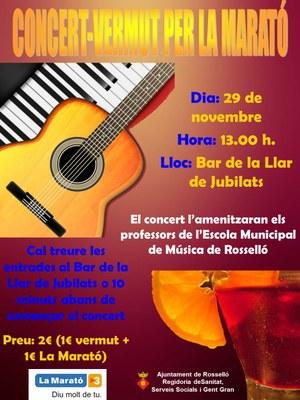 cartell concert vermut