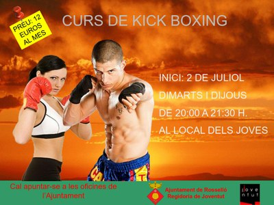 curs kick boxing