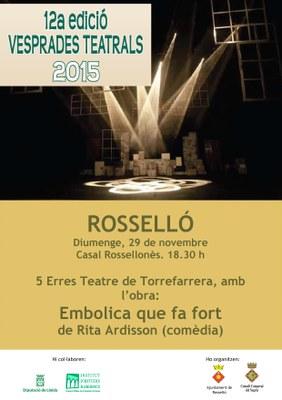 Vesprades Teatrals Rosselló