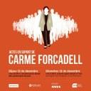 ACTE DE SUPORT A LA PRESIDENTA DEL PARLAMENT DE CATALUNYA, CARME FORCADELL.