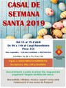 CASAL DE SETMANA SANTA 2019