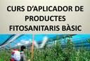 CURS D'APLICADOR DE PRODUCTES FITOSANITARIS BÀSIC