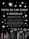 FESTA DE CAP D'ANY A ROSSELLÓ