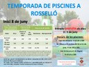INICI TEMPORADA DE PISCINES 2019